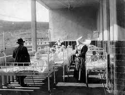 Helioterapia en sanatorios
